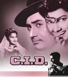 C.I.D poster (1956)