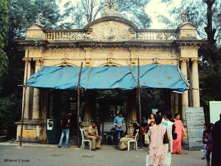 Entry gate at Byculla zoo