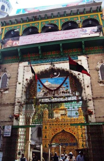 entrance to Ajmer Dargah - rajasthan itinerary