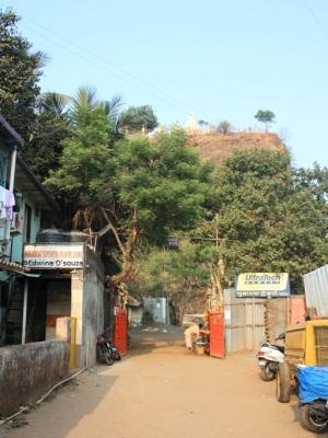 Gaondevi temple entrance gate