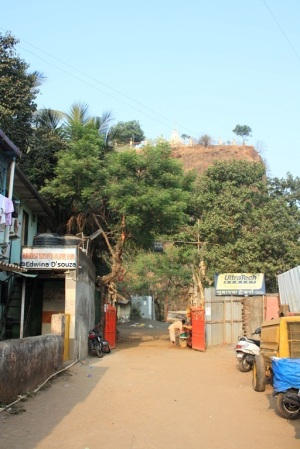 Gaondevi temple entrance gate