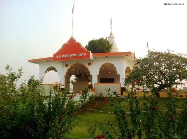 Gaondevi temple atop Gilbert Hill