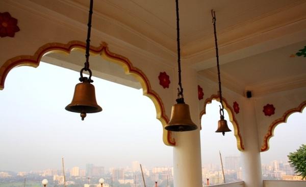 Inside Gaondevi temple