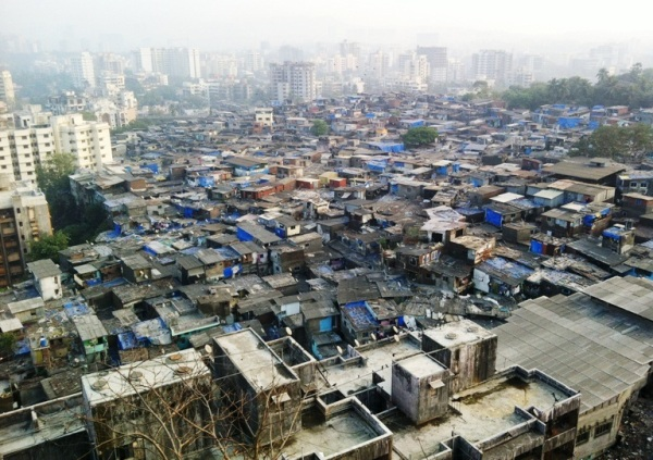 Slums surrounding Gilbert hill - View atop