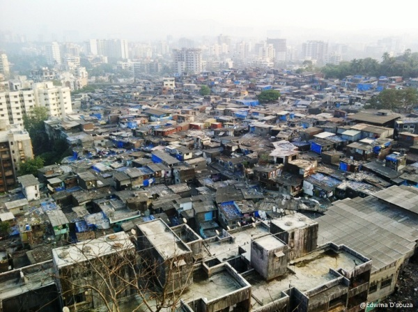 Slums surrounding Gilbert hill - View atop