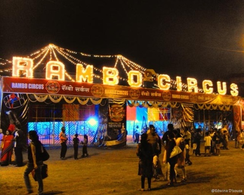 Rambo Circus - visit to the circus
