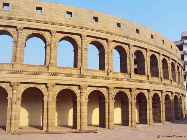 Replica of the Colosseum