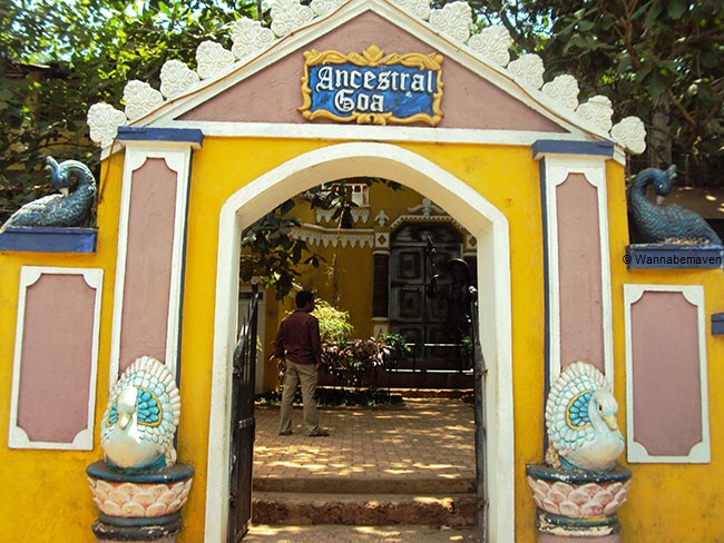 Goa Ancestral Museum entrance