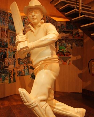 Sunil Gavaskar - sahara cricket gaurav point