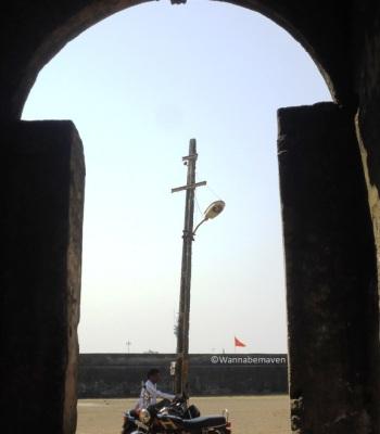 inside Sao Jeronimo fort - Daman - People of Gujarat