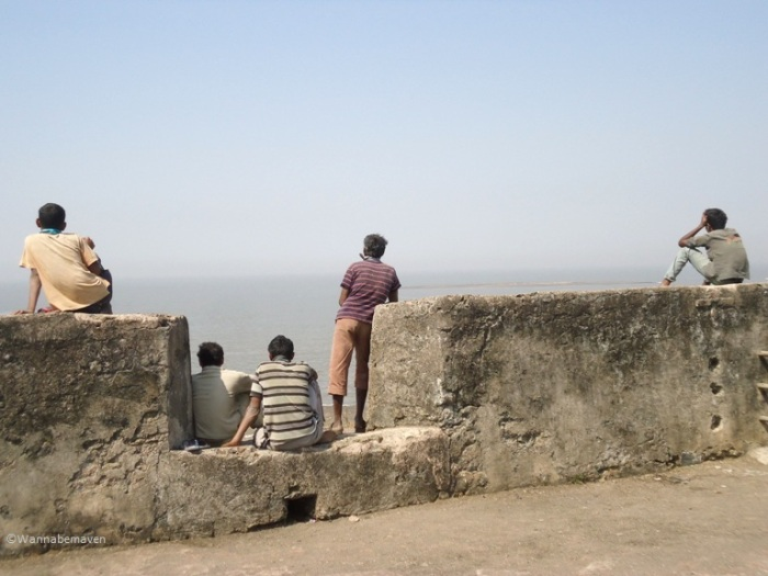 Lighthouse - Mota Daman Fort