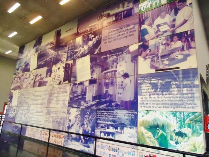 Inside Amul Dairy Museum