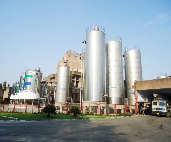 Amul Dairy Factory - Milk Silo units