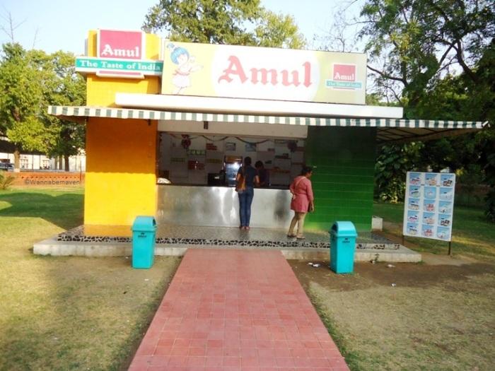 Amul Parlors inside the AMUL Dairy complex