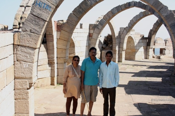 at Champaner - Pavagad Archaeological site