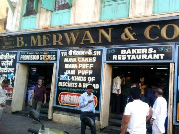B.Merwans in Grant Road
