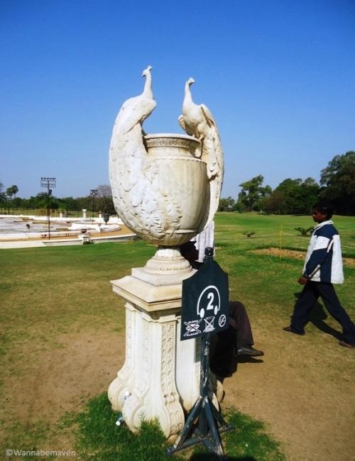 The Peacocks Urn