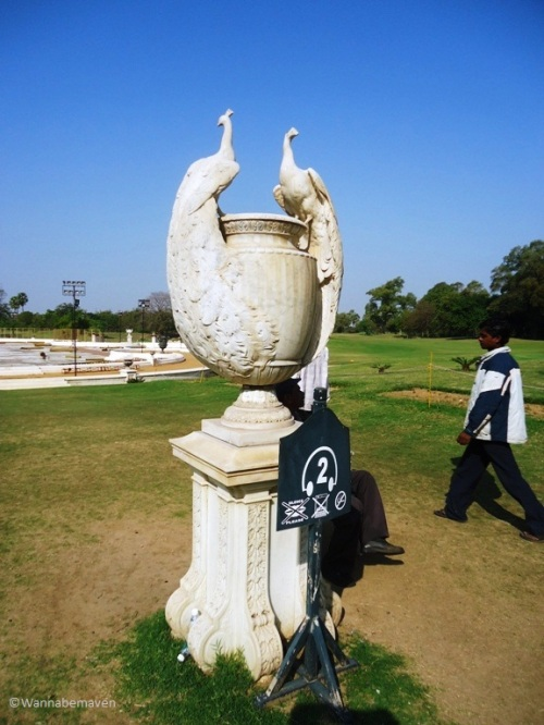 The Peacocks Urn