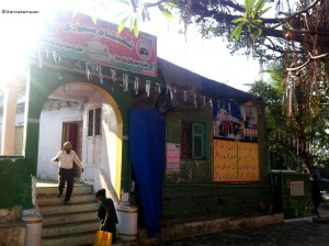 dargah near sewri fort
