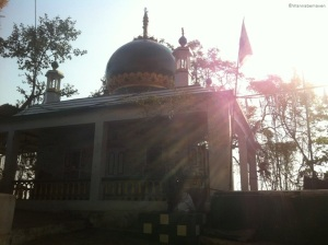Dargah near Sewri fort