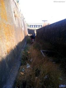 inside sewri fort