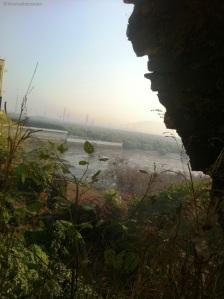 Sewri Mudflats view from Sewri fort