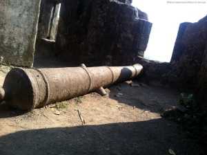 Canon inside sion fort