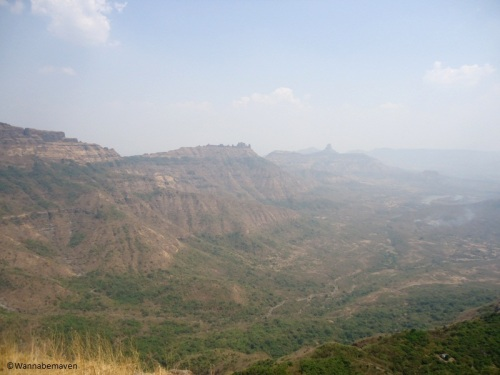 View from Malangadd Fort