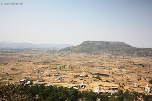 View from Karla Caves