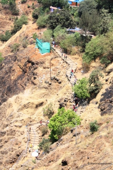 Climb to Karla Caves