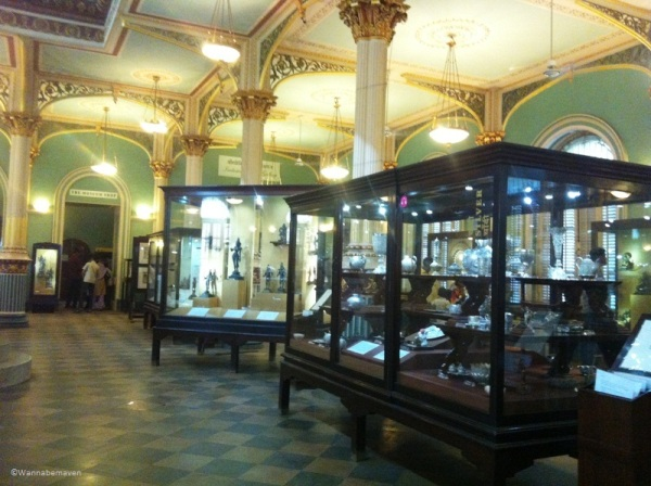 objects inside Bhau Daji Lad museum