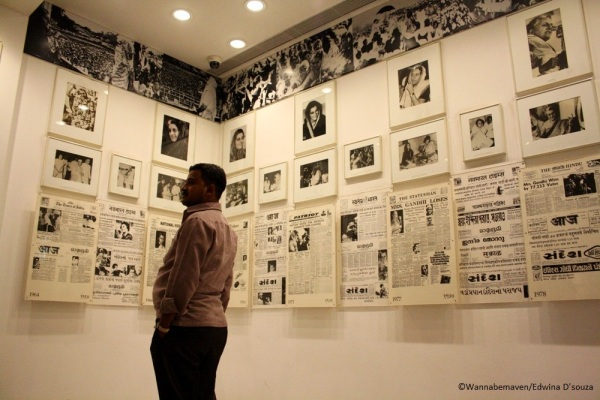 inside Indira Gandhi Memorial and Museum