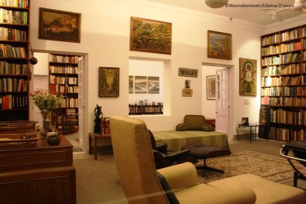 Indira Gandhi Study Room - inside Indira Gandhi Memorial Museum