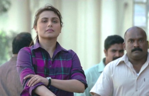 A still from Mardaani