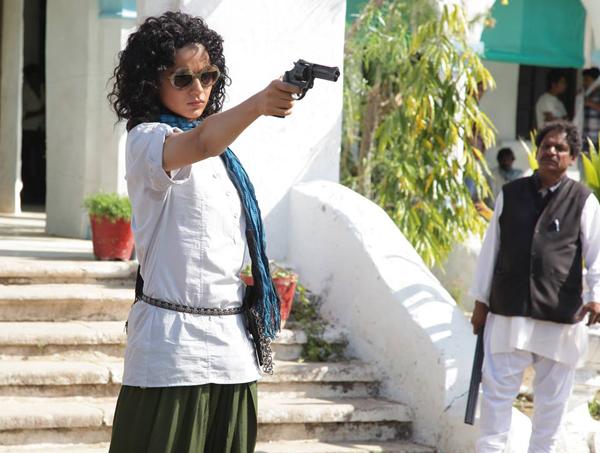 A still from Revolver Rani