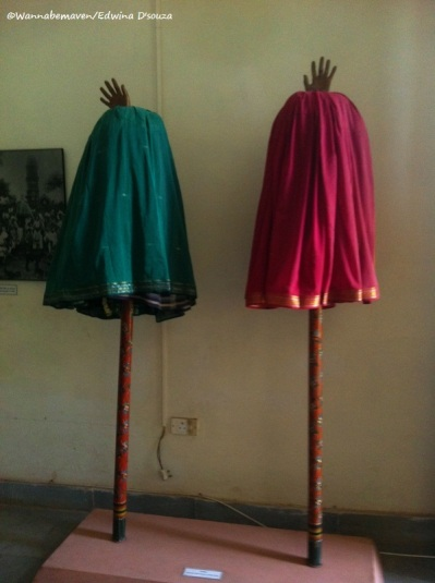 Tarang (traditional umbrellas for processions) - Goa State Museum