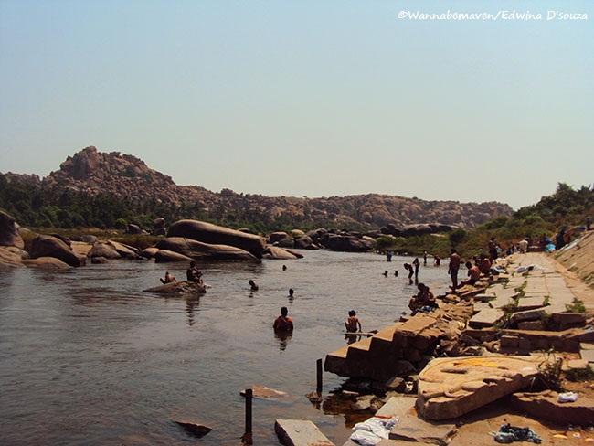 Tungabhadra River - Hampi