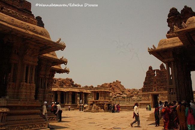 Vijayanagara Empire - Hampi UNESCO Heritage Ruins